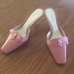 Pink kitten heels. Brand new!!